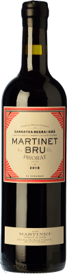 181,95 € Free Shipping | Red wine Mas Martinet Bru Crianza D.O.Ca. Priorat Catalonia Spain Syrah, Grenache Special Bottle 5 L
