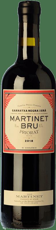 31,95 € Free Shipping | Red wine Mas Martinet Bru Crianza D.O.Ca. Priorat Catalonia Spain Syrah, Grenache Special Bottle 5 L