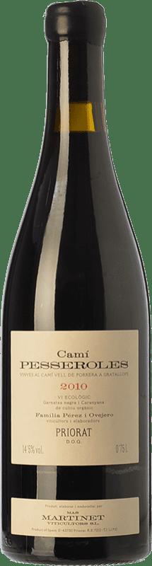 83,95 € Free Shipping | Red wine Mas Martinet Camí Pesseroles Crianza D.O.Ca. Priorat Catalonia Spain Grenache, Carignan Bottle 75 cl