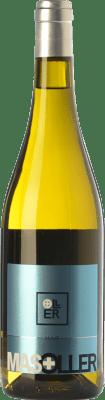9,95 € Kostenloser Versand | Weißwein Mas Oller Mar Blanc D.O. Empordà Katalonien Spanien Malvasía, Picapoll Flasche 75 cl