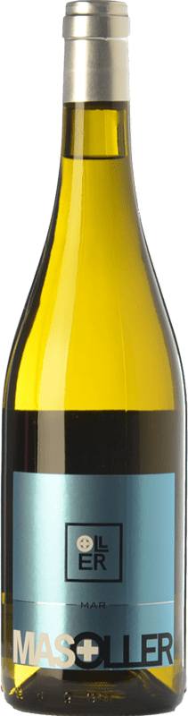9,95 € Free Shipping | White wine Mas Oller Mar Blanc D.O. Empordà Catalonia Spain Malvasía, Picapoll Bottle 75 cl