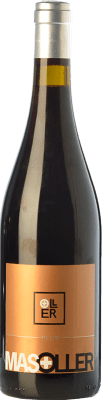 15,95 € Free Shipping | Red wine Mas Oller Plus Crianza D.O. Empordà Catalonia Spain Syrah, Grenache Bottle 75 cl