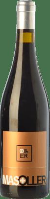 15,95 € Kostenloser Versand | Rotwein Mas Oller Plus Crianza D.O. Empordà Katalonien Spanien Syrah, Grenache Flasche 75 cl