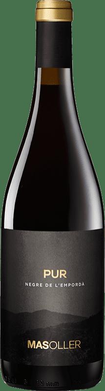 9,95 € Free Shipping | Red wine Mas Oller Pur Joven D.O. Empordà Catalonia Spain Syrah, Grenache, Cabernet Sauvignon Bottle 75 cl