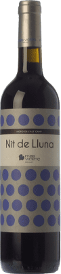 11,95 € Free Shipping | Red wine Mas Vicenç Nit de Lluna Crianza D.O. Tarragona Catalonia Spain Tempranillo, Syrah Bottle 75 cl