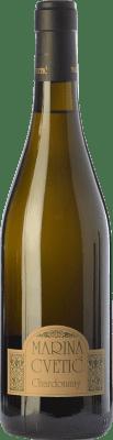 39,95 € Free Shipping | White wine Masciarelli Marina Cvetic I.G.T. Colline Teatine Abruzzo Italy Chardonnay Bottle 75 cl