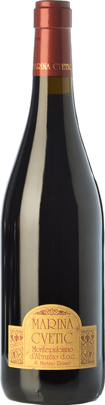 28,95 € Free Shipping | Red wine Masciarelli Marina Cvetic D.O.C. Montepulciano d'Abruzzo Abruzzo Italy Montepulciano Bottle 75 cl