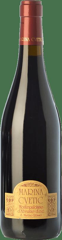 27,95 € Envoi gratuit | Vin rouge Masciarelli Marina Cvetic D.O.C. Montepulciano d'Abruzzo Abruzzes Italie Montepulciano Bouteille 75 cl