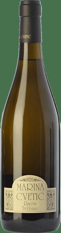 35,95 € Envoi gratuit | Vin blanc Masciarelli Marina Cvetic D.O.C. Trebbiano d'Abruzzo Abruzzes Italie Trebbiano d'Abruzzo Bouteille 75 cl
