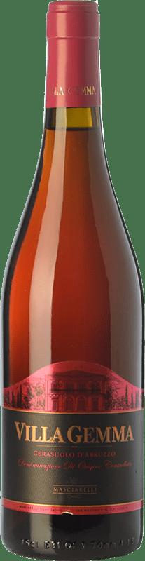 16,95 € Free Shipping | Rosé wine Masciarelli Villa Gemma D.O.C. Cerasuolo d'Abruzzo Abruzzo Italy Montepulciano Bottle 75 cl