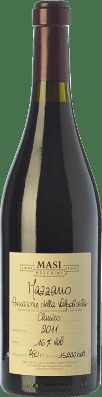 118,95 € Envío gratis | Vino tinto Masi Mazzano D.O.C.G. Amarone della Valpolicella Veneto Italia Corvina, Rondinella, Molinara Botella 75 cl