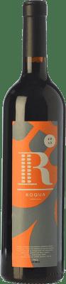 12,95 € Free Shipping | Red wine Roqua Joven Spain Grenache, Cabernet Sauvignon Bottle 75 cl