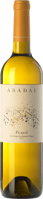 13,95 € Free Shipping | White wine Masies d'Avinyó Abadal D.O. Pla de Bages Catalonia Spain Picapoll Bottle 75 cl
