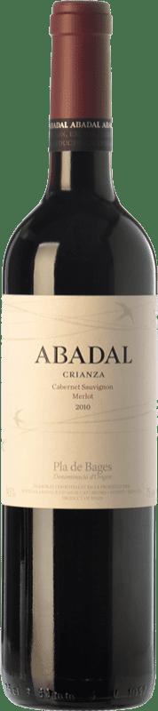 11,95 € Free Shipping | Red wine Masies d'Avinyó Abadal Crianza D.O. Pla de Bages Catalonia Spain Merlot, Cabernet Sauvignon Bottle 75 cl