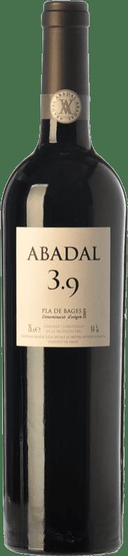 25,95 € Free Shipping | Red wine Masies d'Avinyó Abadal 3.9 Crianza D.O. Pla de Bages Catalonia Spain Syrah, Cabernet Sauvignon Bottle 75 cl