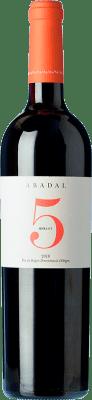 21,95 € Free Shipping | Red wine Masies d'Avinyó Abadal 5 Crianza D.O. Pla de Bages Catalonia Spain Merlot Bottle 75 cl