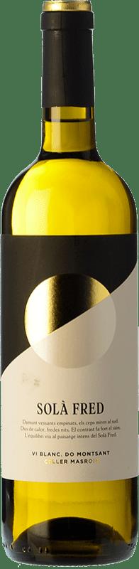 8,95 € Free Shipping | White wine Masroig Solà Fred Blanc Joven D.O. Montsant Catalonia Spain Grenache White, Macabeo Bottle 75 cl