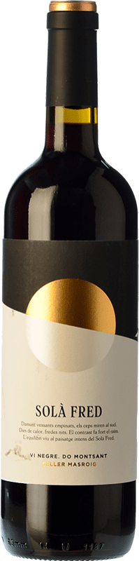 8,95 € Free Shipping | Red wine Masroig Solà Fred Negre Joven D.O. Montsant Catalonia Spain Samsó Bottle 75 cl