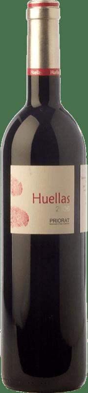 27,95 € Free Shipping | Red wine Massard Brunet Huellas Crianza D.O.Ca. Priorat Catalonia Spain Syrah, Grenache, Cabernet Sauvignon, Carignan Bottle 75 cl
