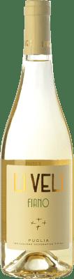 9,95 € Free Shipping | White wine Li Veli Li Veli I.G.T. Puglia Puglia Italy Fiano Bottle 75 cl