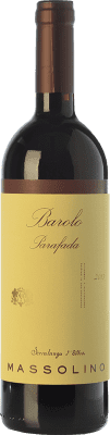52,95 € Envío gratis | Vino tinto Massolino Parafada D.O.C.G. Barolo Piemonte Italia Nebbiolo Botella 75 cl