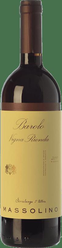 89,95 € Envoi gratuit | Vin rouge Massolino Riserva Vigna Rionda Reserva D.O.C.G. Barolo Piémont Italie Nebbiolo Bouteille 75 cl