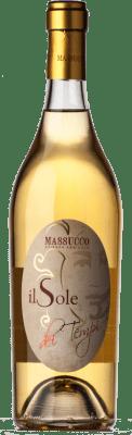21,95 € Free Shipping | White wine Massucco Il Sole dei Tempi D.O.C. Piedmont Piemonte Italy Arneis Bottle 75 cl