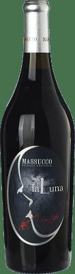 21,95 € Free Shipping | Red wine Massucco La Luna dei Tempi D.O.C. Piedmont Piemonte Italy Barbera Bottle 75 cl