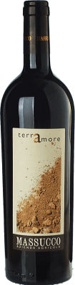 19,95 € Free Shipping | Red wine Massucco Terramore D.O.C. Piedmont Piemonte Italy Nebbiolo, Corvina Bottle 75 cl