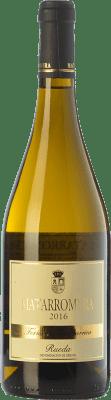 29,95 € Kostenloser Versand | Weißwein Matarromera Fermentado en Barrica Crianza D.O. Rueda Kastilien und León Spanien Verdejo Flasche 75 cl