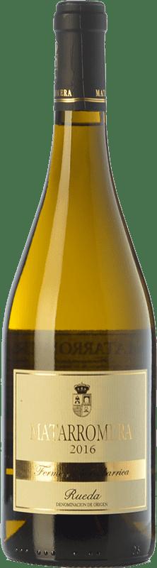 29,95 € Free Shipping | White wine Matarromera Fermentado en Barrica Crianza D.O. Rueda Castilla y León Spain Verdejo Bottle 75 cl