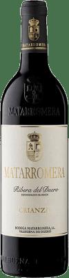 18,95 € 免费送货 | 红酒 Matarromera Crianza D.O. Ribera del Duero 卡斯蒂利亚莱昂 西班牙 Tempranillo 瓶子 75 cl