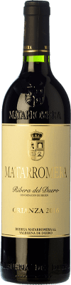 17,95 € Free Shipping | Red wine Matarromera Crianza D.O. Ribera del Duero Castilla y León Spain Tempranillo Bottle 75 cl. | Thousands of wine lovers trust us to get the best price guarantee, free shipping always and hassle-free shopping and returns.