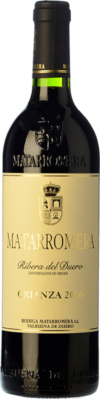 18,95 € Free Shipping | Red wine Matarromera Crianza D.O. Ribera del Duero Castilla y León Spain Tempranillo Bottle 75 cl