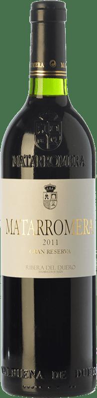 94,95 € Envoi gratuit | Vin rouge Matarromera Gran Reserva D.O. Ribera del Duero Castille et Leon Espagne Tempranillo Bouteille 75 cl