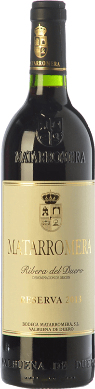 392,95 € Free Shipping | Red wine Matarromera Reserva 1999 D.O. Ribera del Duero Castilla y León Spain Tempranillo Bottle 75 cl