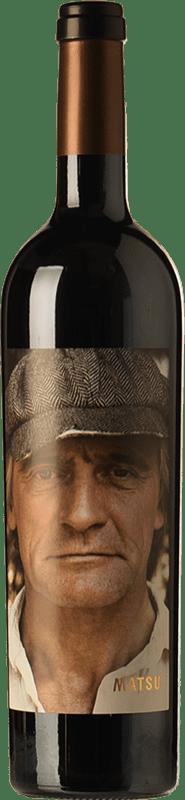 9,95 € Envío gratis | Vino tinto Matsu El Recio Crianza D.O. Toro Castilla y León España Tinta de Toro Botella 75 cl