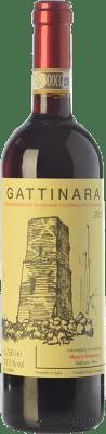 29,95 € Free Shipping | Red wine Mauro Franchino D.O.C.G. Gattinara Piemonte Italy Nebbiolo Bottle 75 cl