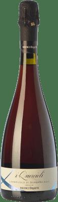 7,95 € Free Shipping | Red wine Medici Ermete Secco I Quercioli D.O.C. Lambrusco di Sorbara Emilia-Romagna Italy Lambrusco di Sorbara Bottle 75 cl