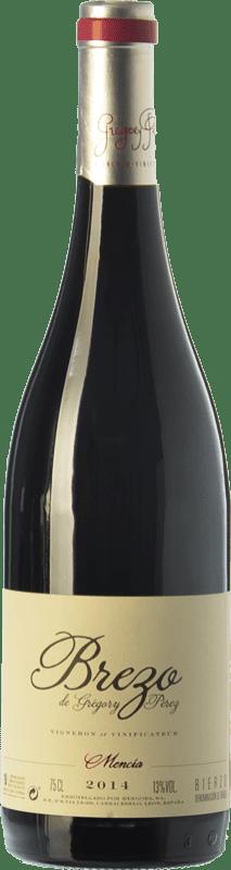 9,95 € Envoi gratuit | Vin rouge Mengoba Brezo Joven D.O. Bierzo Castille et Leon Espagne Mencía Bouteille 75 cl