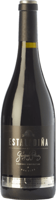 45,95 € Free Shipping | Red wine Mengoba Estaladiña Crianza D.O. Bierzo Castilla y León Spain Estaladiña Tinta Bottle 75 cl