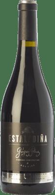 42,95 € Kostenloser Versand | Rotwein Mengoba Estaladiña Crianza D.O. Bierzo Kastilien und León Spanien Estaladiña Tinta Flasche 75 cl