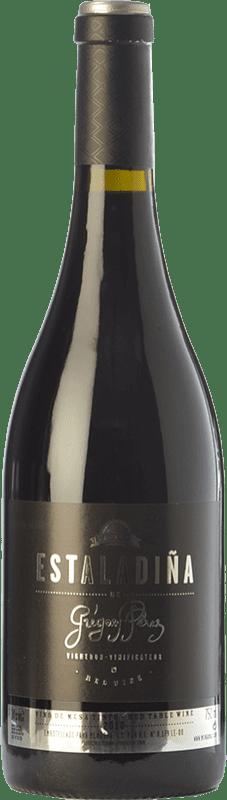 36,95 € Free Shipping | Red wine Mengoba Estaladiña Crianza D.O. Bierzo Castilla y León Spain Estaladiña Tinta Bottle 75 cl