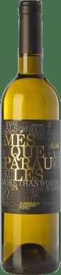 9,95 € Envío gratis   Vino blanco Més Que Paraules Blanc D.O. Catalunya Cataluña España Chardonnay, Sauvignon Blanca, Picapoll Botella 75 cl
