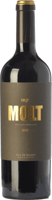 36,95 € Free Shipping | Red wine Més Que Paraules Molt Crianza D.O. Pla de Bages Catalonia Spain Cabernet Sauvignon Bottle 75 cl