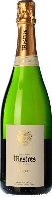 14,95 € Free Shipping | White sparkling Mestres Coquet Brut Nature Gran Reserva D.O. Cava Catalonia Spain Macabeo, Xarel·lo, Parellada Bottle 75 cl. | Thousands of wine lovers trust us to get the best price guarantee, free shipping always and hassle-free shopping and returns.