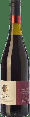 8,95 € Free Shipping | Red wine Miceli Baaria I.G.T. Terre Siciliane Sicily Italy Nero d'Avola Bottle 75 cl