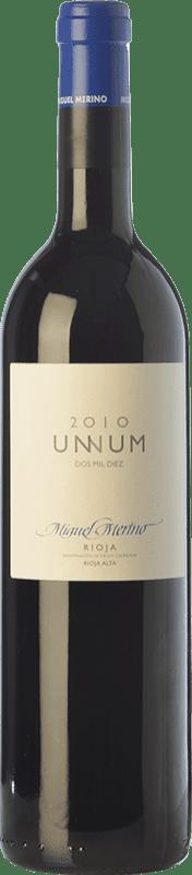 31,95 € Free Shipping | Red wine Miguel Merino Unnum Joven D.O.Ca. Rioja The Rioja Spain Tempranillo Bottle 75 cl