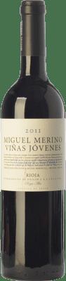 36,95 € Free Shipping | Red wine Miguel Merino Viñas Jóvenes Crianza D.O.Ca. Rioja The Rioja Spain Tempranillo, Graciano Bottle 75 cl