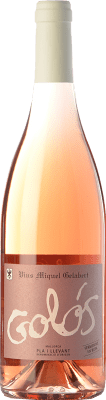 13,95 € Free Shipping | Rosé wine Miquel Gelabert Golós Rosat D.O. Pla i Llevant Balearic Islands Spain Pinot Black Bottle 75 cl